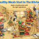 Food and Health is Proud to Present our NEW Healthy Kitchen Poster