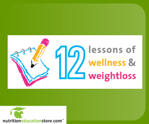 12 Lessons Wellness and Weight Control Program