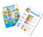 Nutrition Facts Label Reading Poster Set