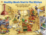 Healthy Kitchen Poster