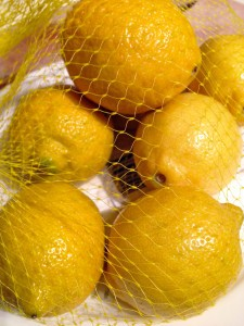 Lemons in bulk photo