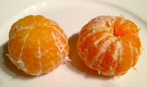 clementine and tangerine comparison photo