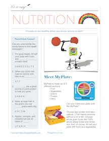 photograph regarding Printable Patient Education Handouts named Cost-free Vitamins Handouts for Nutrients Training by means of Foodstuff and