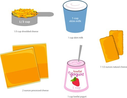 Dairy Portions