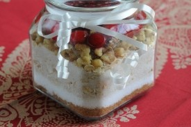 Holiday Cookies in a Jar