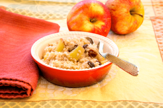 Dutch Apple Oatmeal