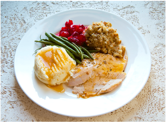 Healthy Holiday Plate