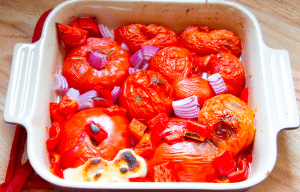 Fresh Roasted Marinara Veggies