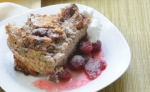 Cranberry Nutmeg Bread Pudding