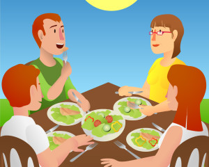August is Family Meals Month