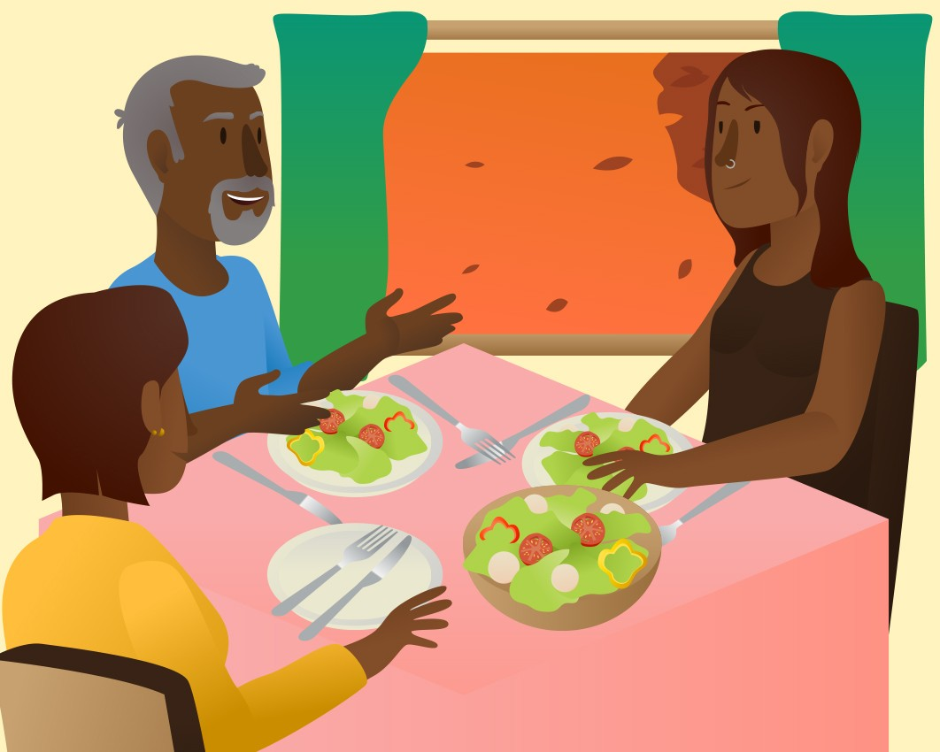 The Benefits Of Family Meals Food And Health Communications