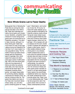 Complete Nutrition Month Newsletter