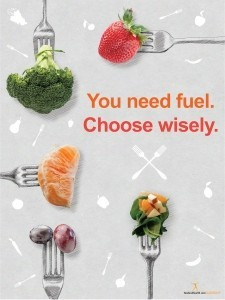 choose wisely poster get ready for national nutrition month