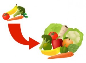 Add More Fruits and Vegetables