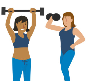 Exercise can affect iron levels