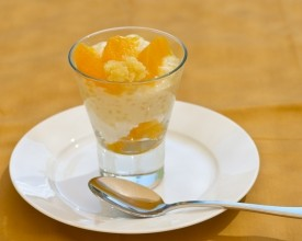 Orange Tapioca Parfait