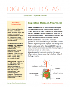 Digestive Disease Awareness