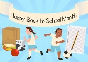 Happy Back to School Month