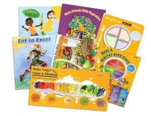 Elementary School Nutrition Poster Set