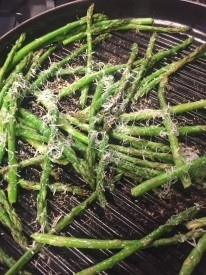 Asparagus on a Grill Pan