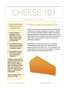 Cheese 101