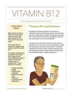 Dietary Guidelines Vitamin B12