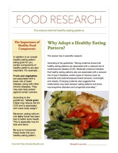 The Science Behind Healthy Eating Patterns