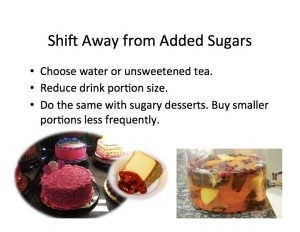Shift from Added Sugars