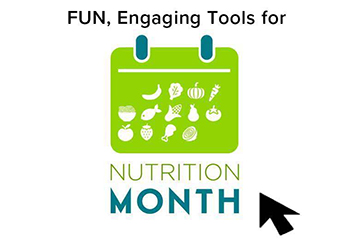 Nutrition Month 2019 Resources