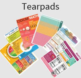 Nutrition Handouts and Tear-off pads