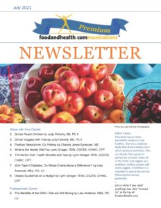 July Newsletter Food and Health Communications